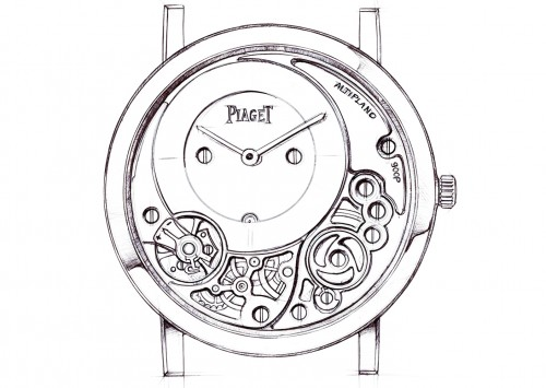 Altiplano 38 mm 900P, Piaget