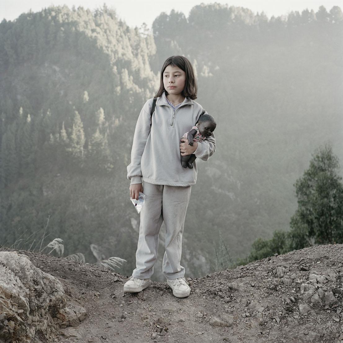 Alec Soth, Untitled 26, Bogotá (girl with doll), 2003.