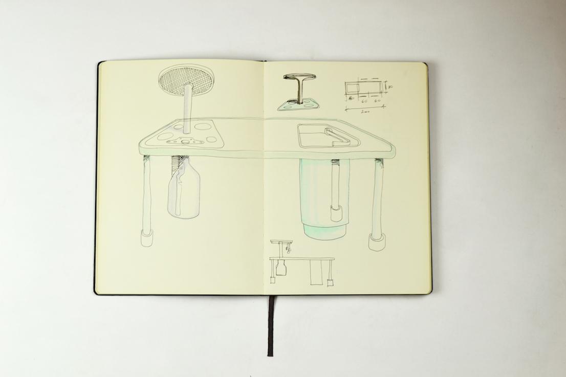 Convivio Kitchen di Giulio Iacchetti per CleanUp