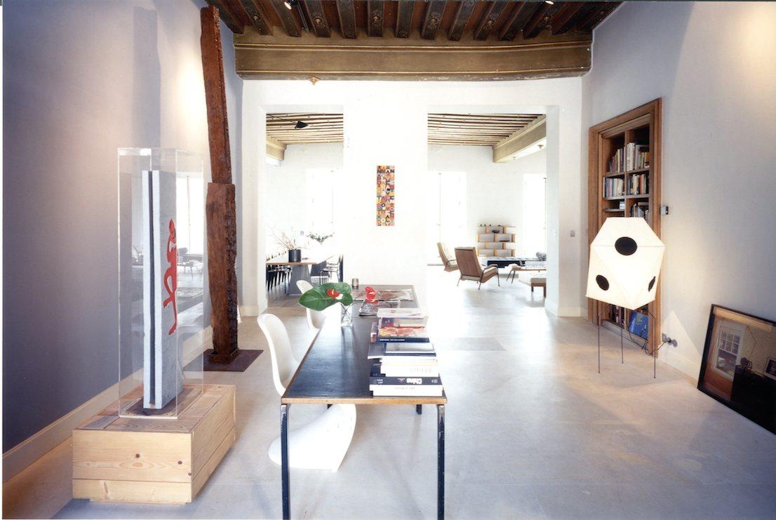 Dove vivono gli architetti, mostra allestita al Padiglione 9 di Fiera Milano Rho-Pero, per il Salone del Mobile 2014. Curata da Francesca Molteni e Davide Pizzigoni. Casa Fuksas.