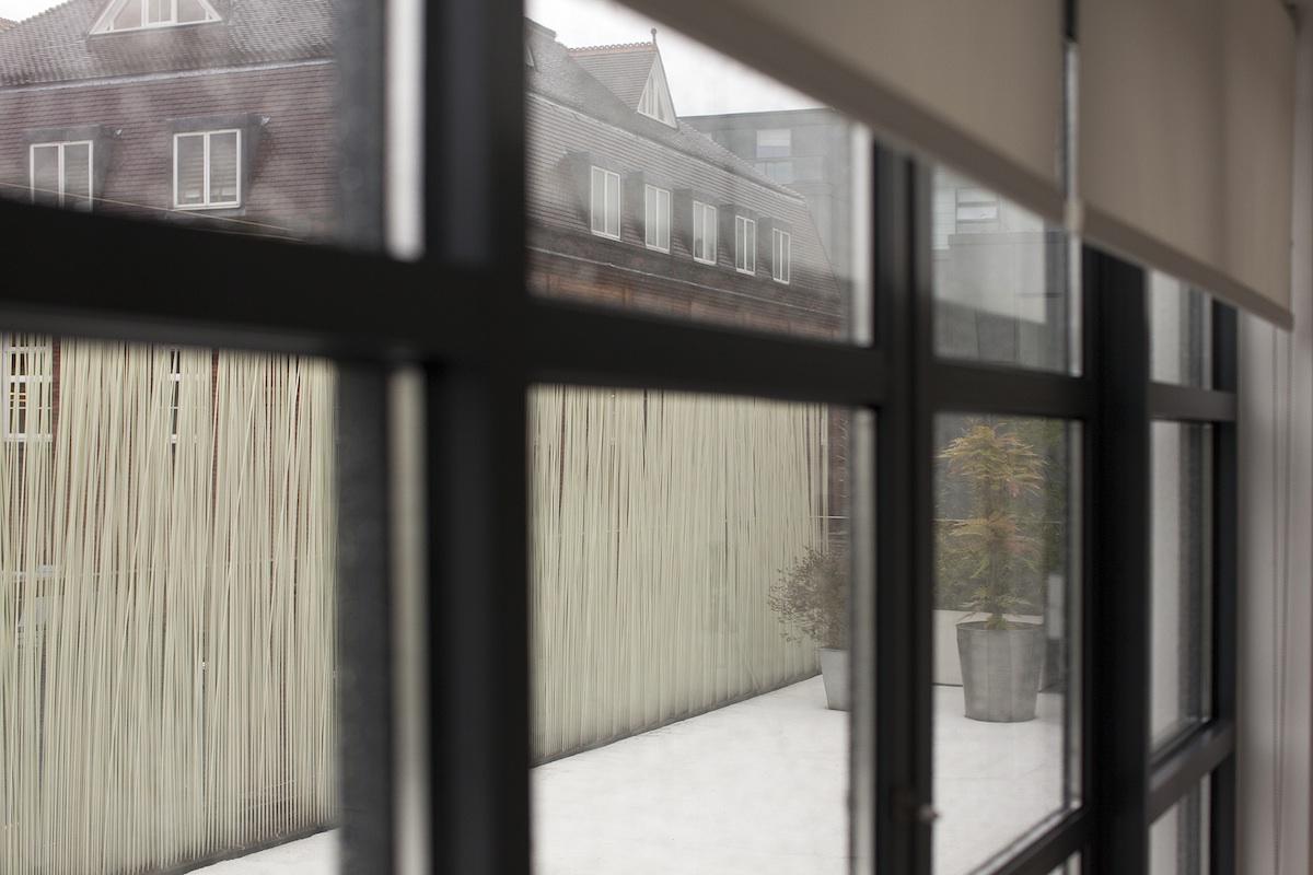 Dove vivono gli architetti, mostra allestita al Padiglione 9 di Fiera Milano Rho-Pero, per il Salone del Mobile 2014. Curata da Francesca Molteni e Davide Pizzigoni. Casa Zaha Hadid.