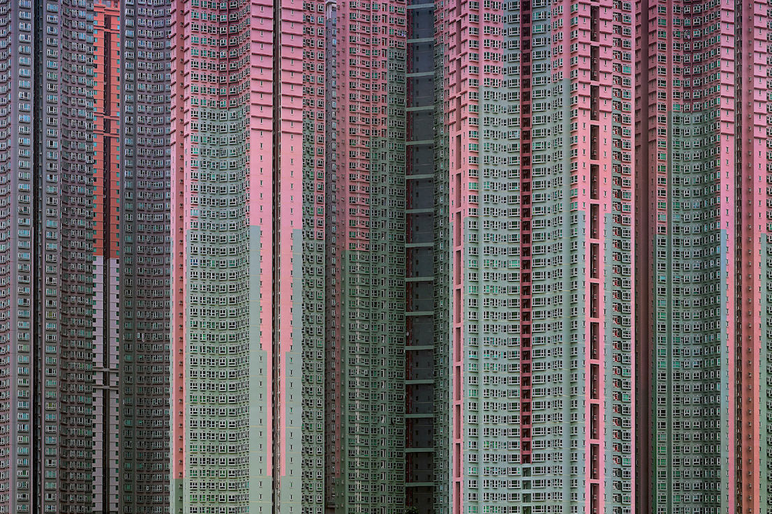 Michael Wolf, Architecture of Density #39, 2005. Courtesy Bruce Silverstein Gallery, New York.
