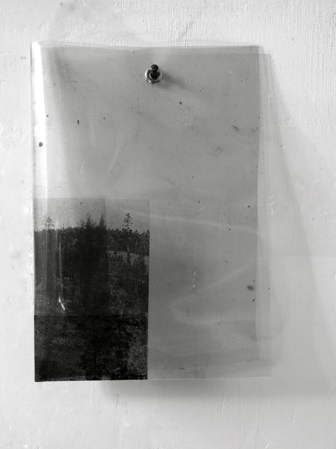 Carlo Guaita, Senza titolo (Pieghe, I, II), 2012. Courtesy dell'artista.