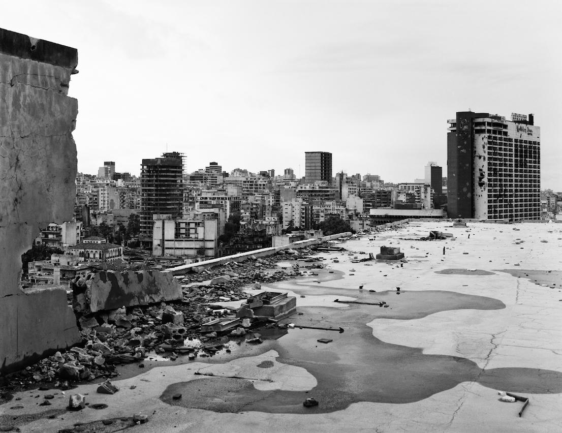 Gabriele Basilico, Beirut, 1991. Courtesy Gabriele Basilico / Studio Gabriele Basilico, Milano.