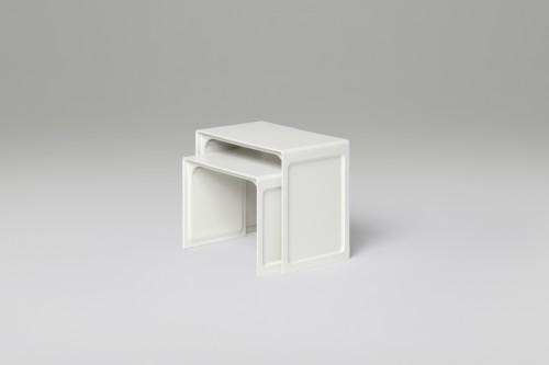 621 Side Table, design di Dieter Rams. Prodotto da Vitsœ.