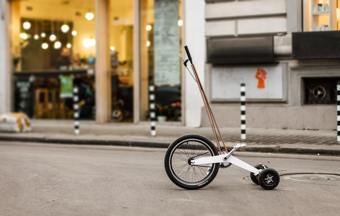 Halfbike, progetto di Kolelinia.