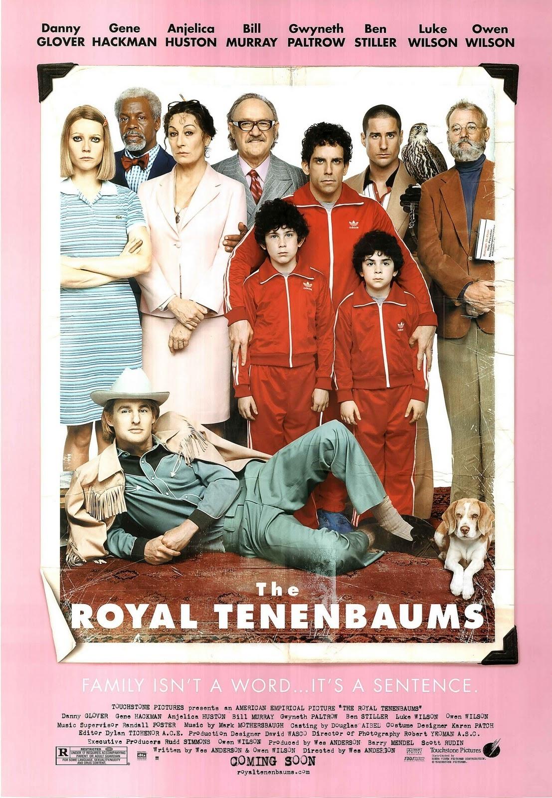 I Tenenbaum di Wes Anderson