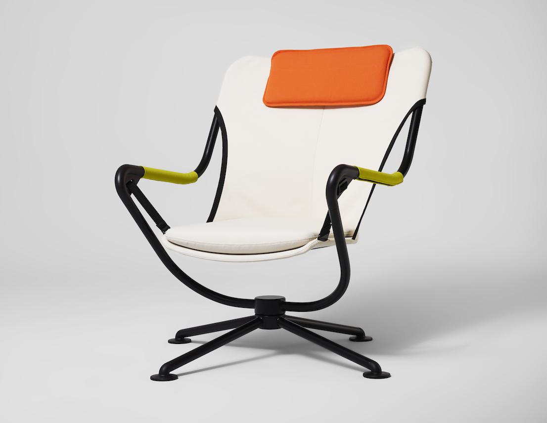 Waver, design di Konstantin Grcic, per Vitra, 2011.