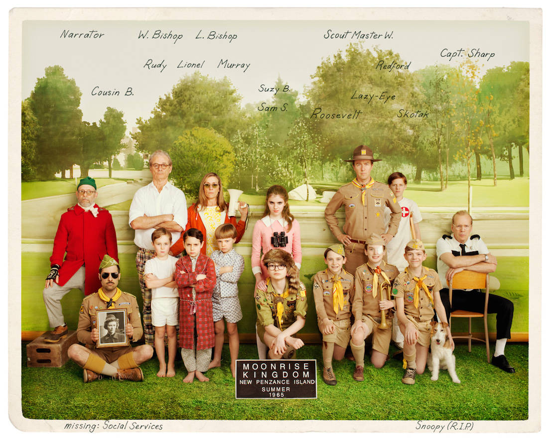 Moonrise Kingdom di Wes Anderson