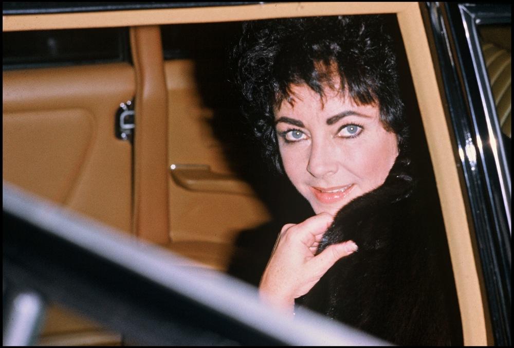 Daniel Angeli, Elizabeth Taylor à Gstaad, 24 décembre 1979