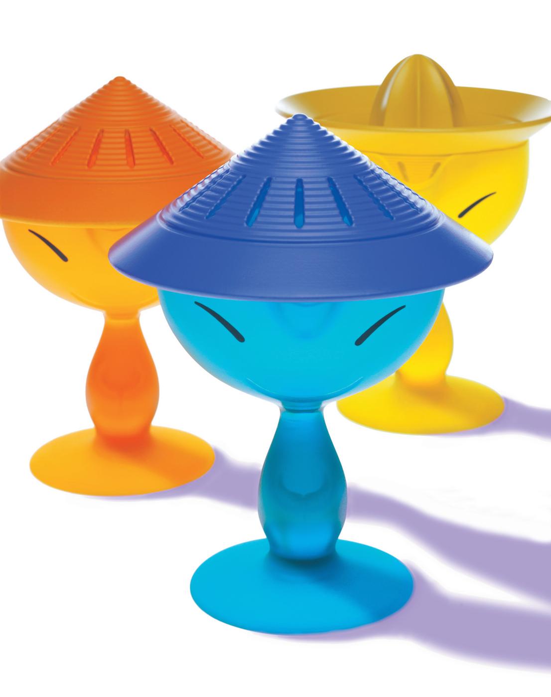 Mandarin, design di Stefano Giovannoni per Alessi, 2001.