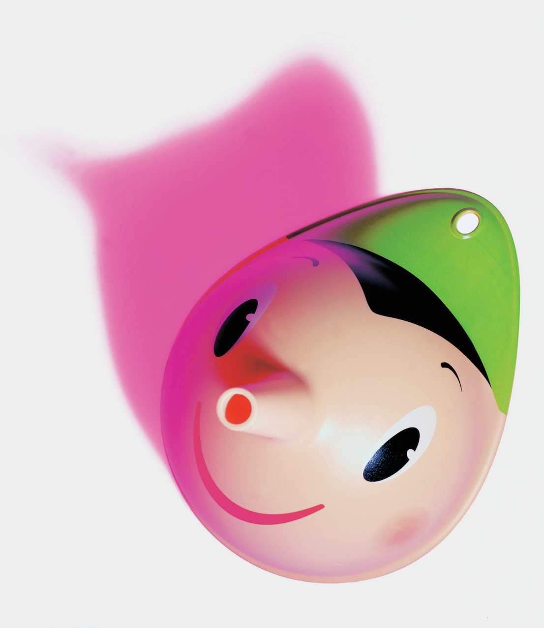 Pino, design di Stefano Giovannoni per Alessi, 1998.