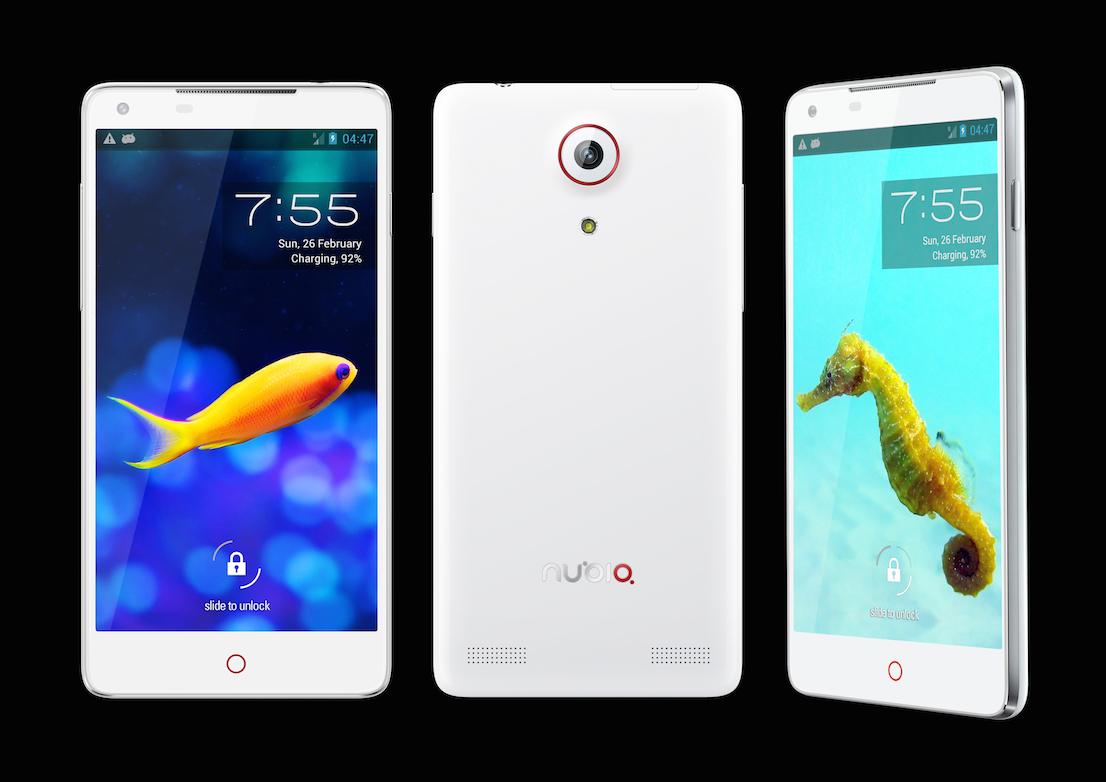 Smartphone, design di Stefano Giovannoni per Nuoio.