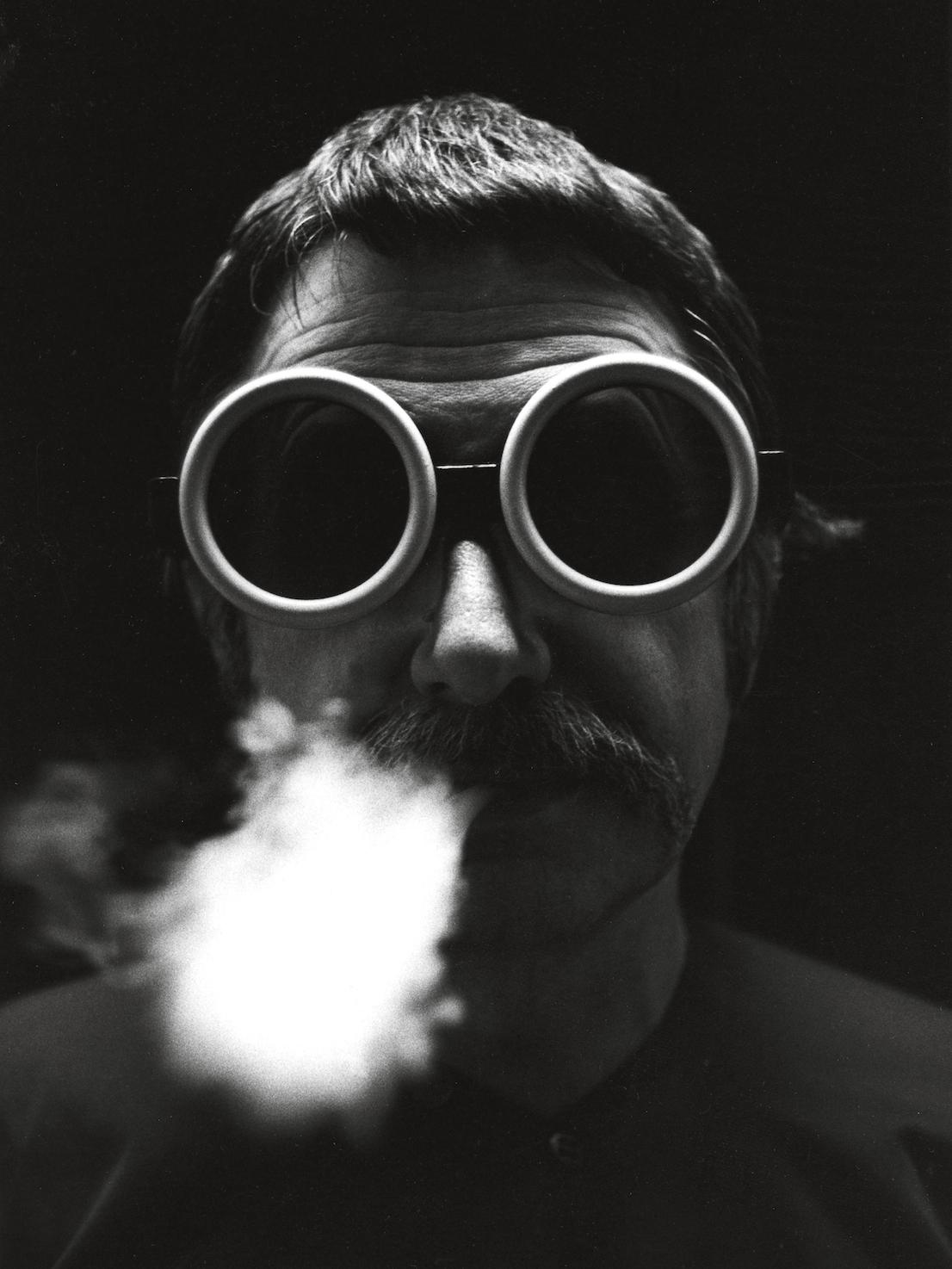 Ettore Sottsass, 1970 circa. © Ettore Sottsass e/and Barbara Radice. Courtesy Archivio Ettore Sottsass.