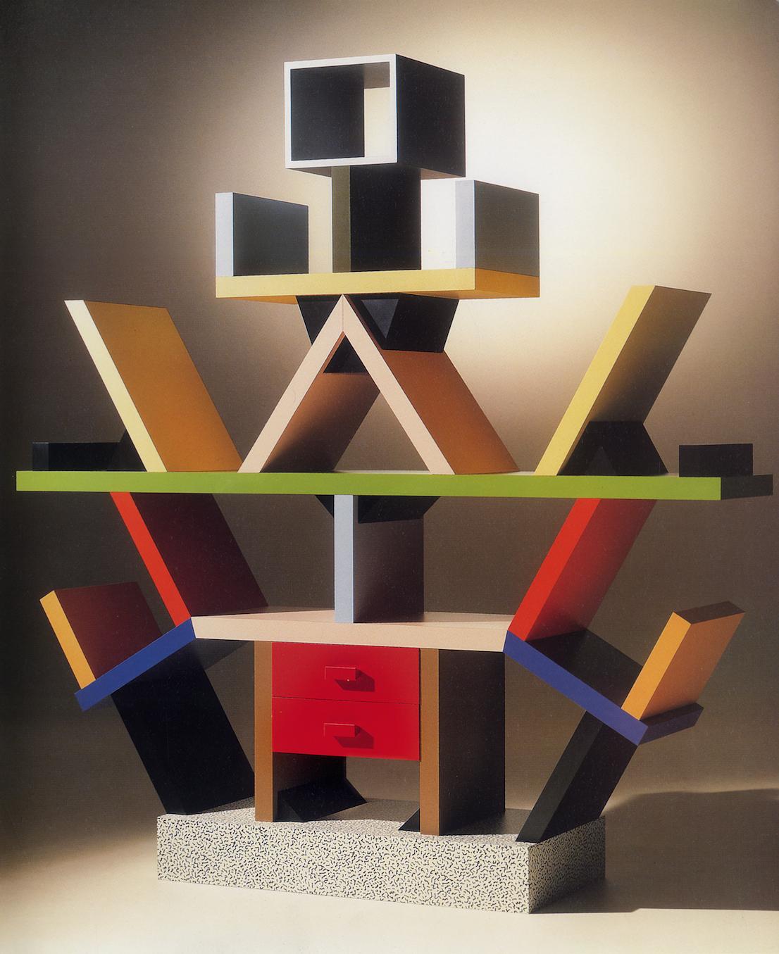 Carlton, 1981. Foto: Collezione Memphis Milano – Aldo Ballo.