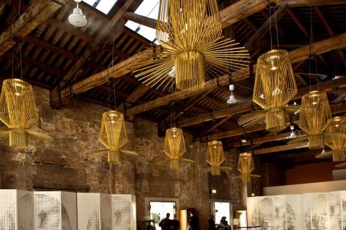 Lampade Foscarini alla Biennale di Venezia
