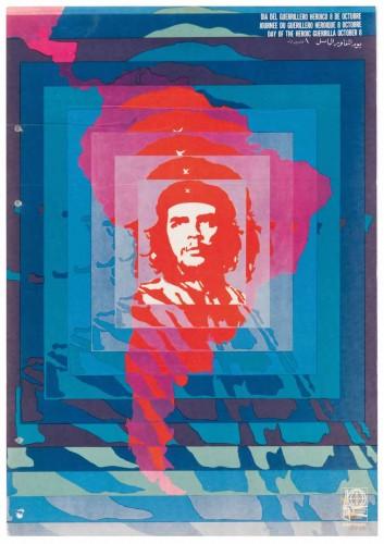 Helena Serrano, Dia del guerrillero heroico 8 de octubre, 1968.