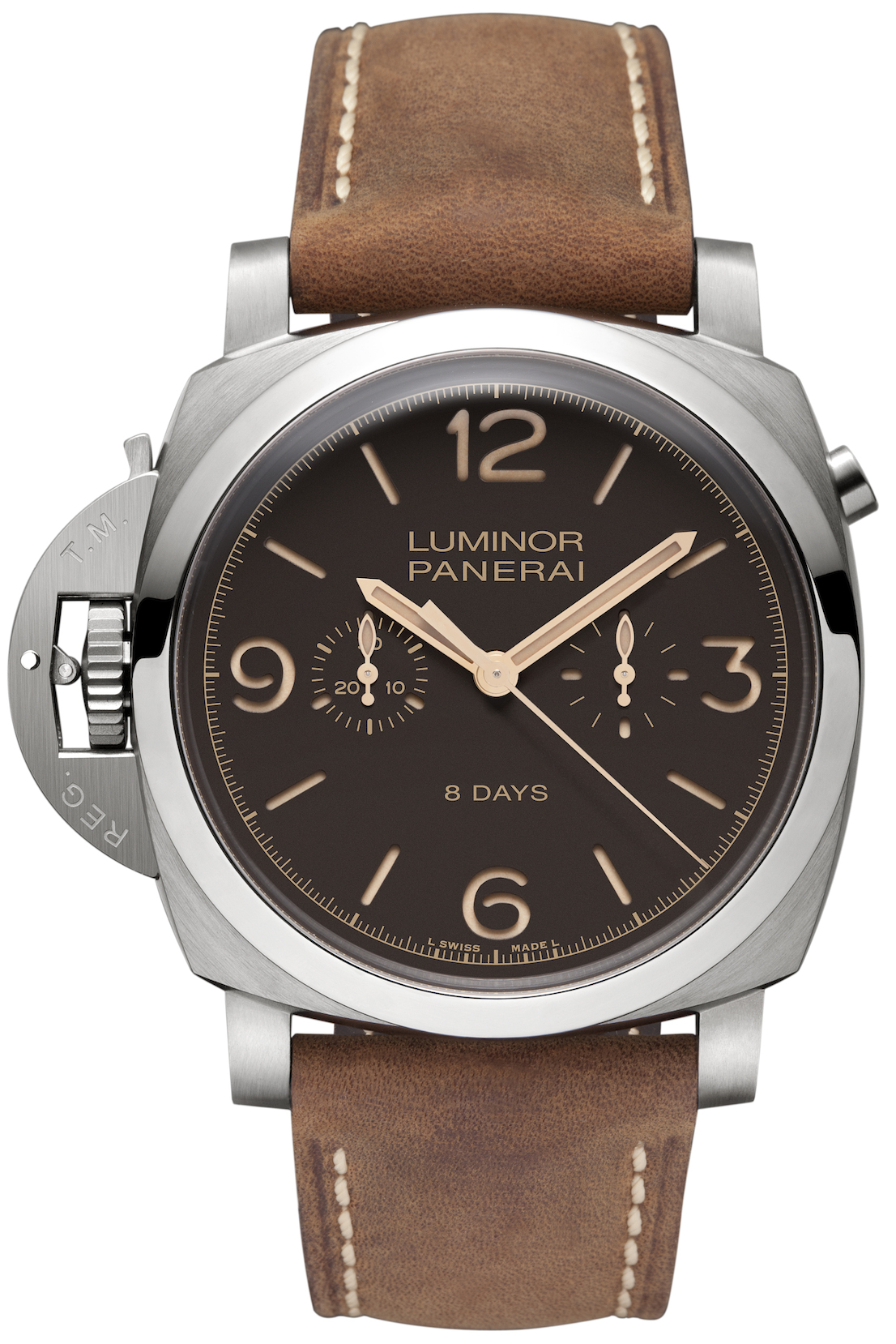 Luminor 1950 Chrono Monopulsante. Panarei.