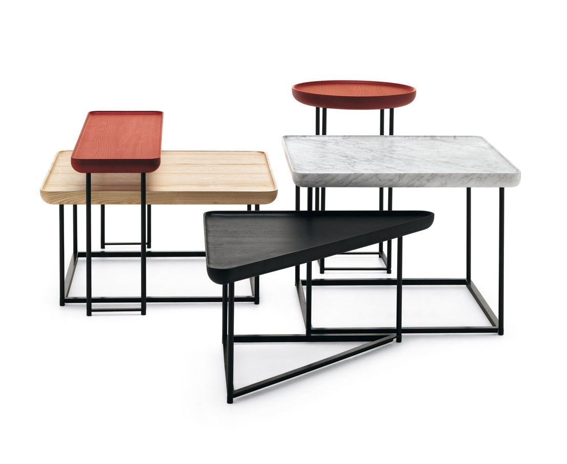 Tavolini torei cassina luca nichetto klat - Tavolini giapponesi ...