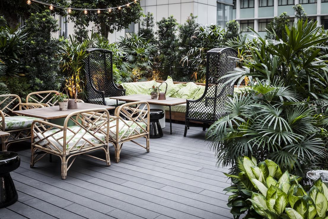 Duddell's di Hong Kong, un ristorante-galleria nella Shanghai Tang Mansion. Progetto di Ilse Crawford.