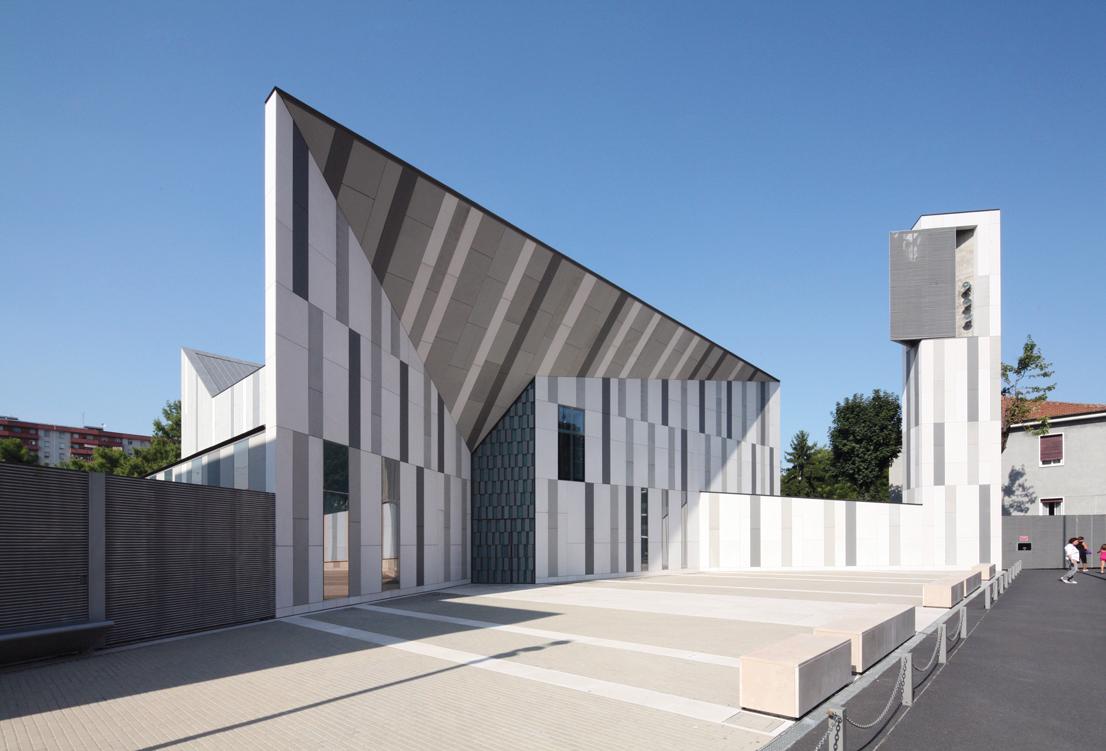 """Chiesa della """"Resurrezione di Gesù"""" Cino Zucchi Architetti con Zucchi & Partners Sesto San Giovanni (Milano), 2004-2010"""