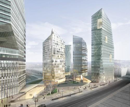 Central Pasila - Piano particolareggiato area torri Cino Zucchi Architetti con One Works e Buro Happold London Helsinki (Finlandia), 2009