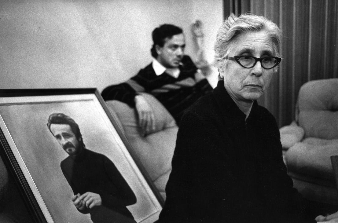 Letizia Battaglia. La madre di Giuseppe Impastato. Cinisi, 1984