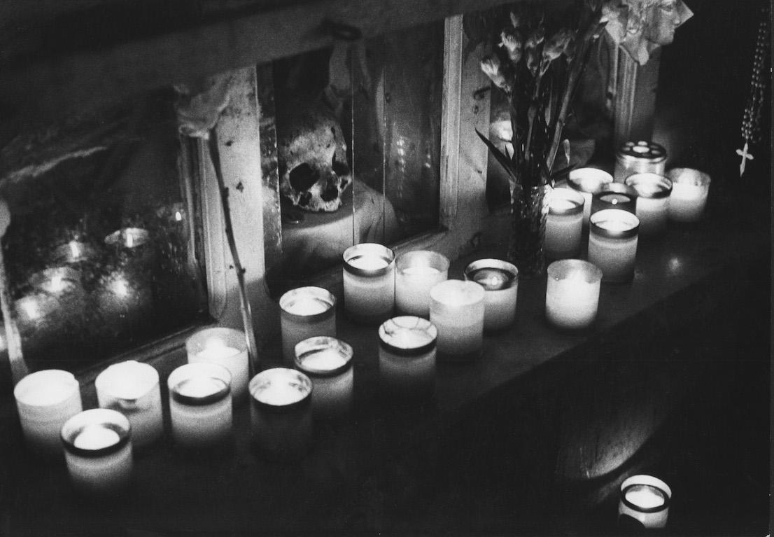 Mimmo Jodice. Cimitero delle Fontanelle. Napoli, 1973