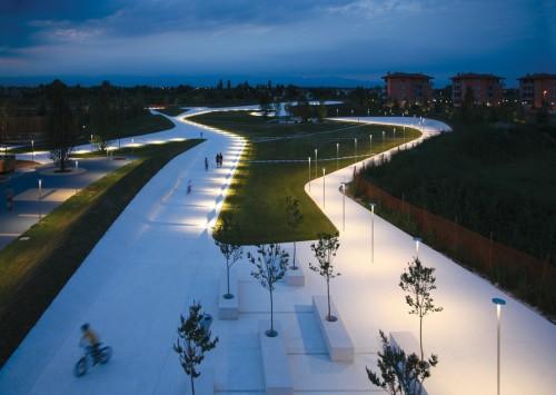 Parco Pubblico Cino Zucchi Architetti con Gueltrini e Stignani Associati San Donà di Piave (Venezia), 2004-2007