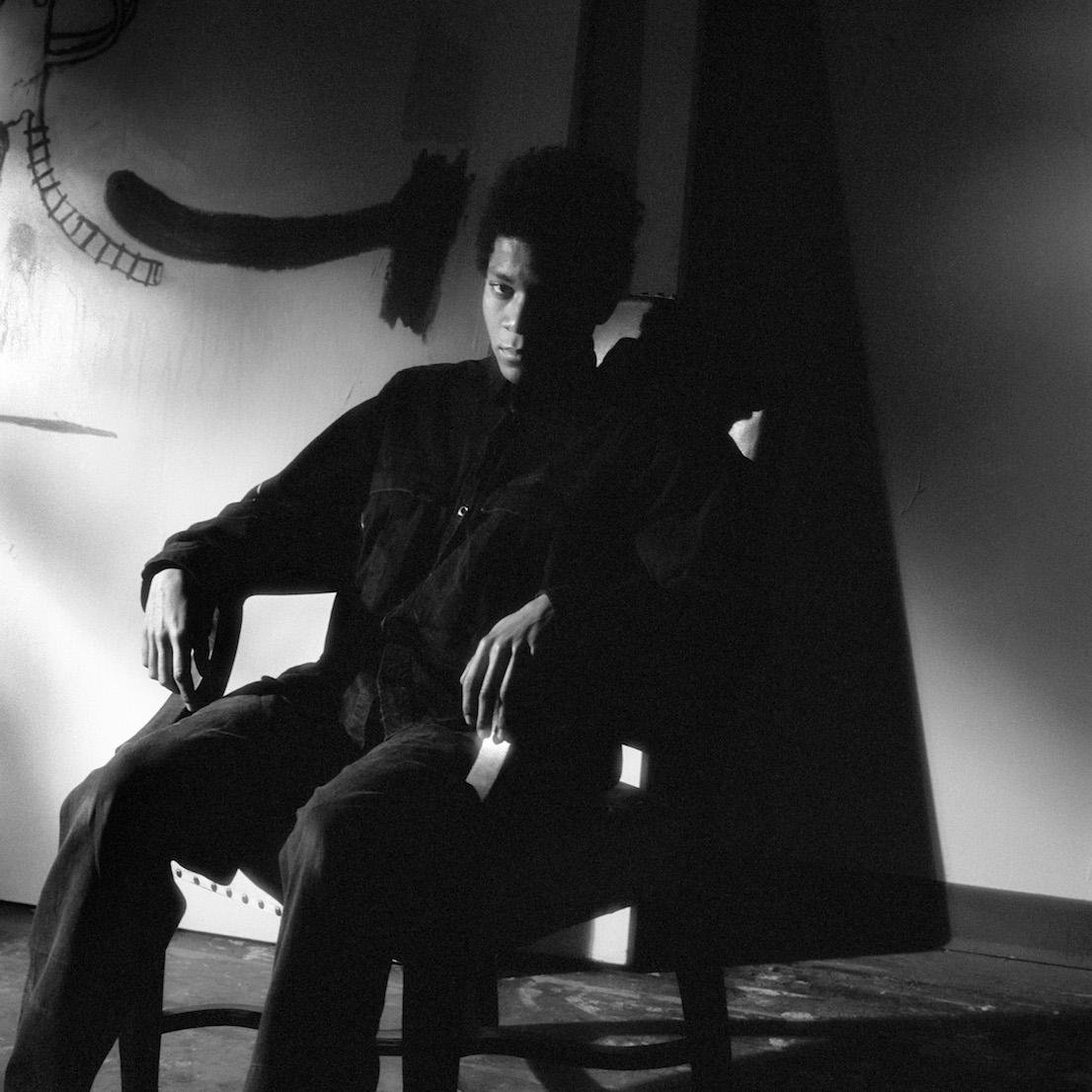 Jean-Michel Basquiat. Foto © Jeannette Montgomery Barron