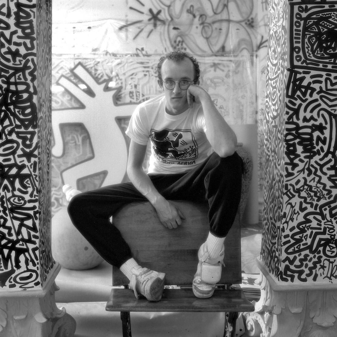 Keith Haring. Foto © Jeannette Montgomery Barron