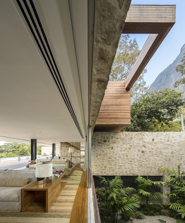 Casa AL, Rio De Janeiro. Progetto di Arthur Casas.