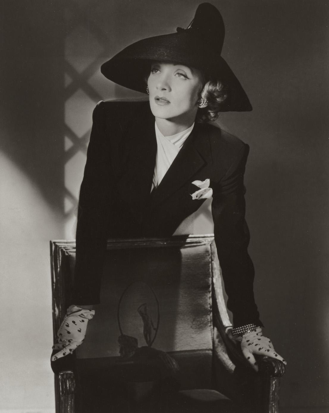 Marlene Dietrich, New York, 1942. © Condé Nast / Horst Estate.