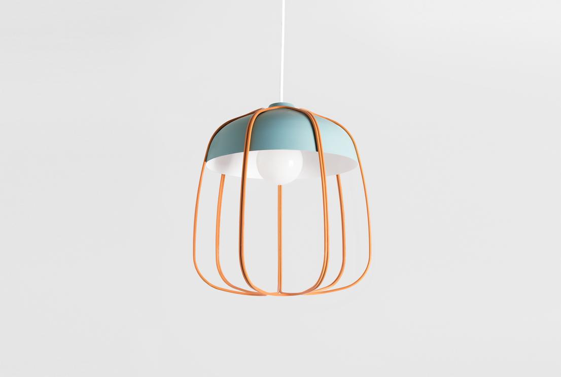 Lampada Tull, design di Tommaso Caldera per Incipit