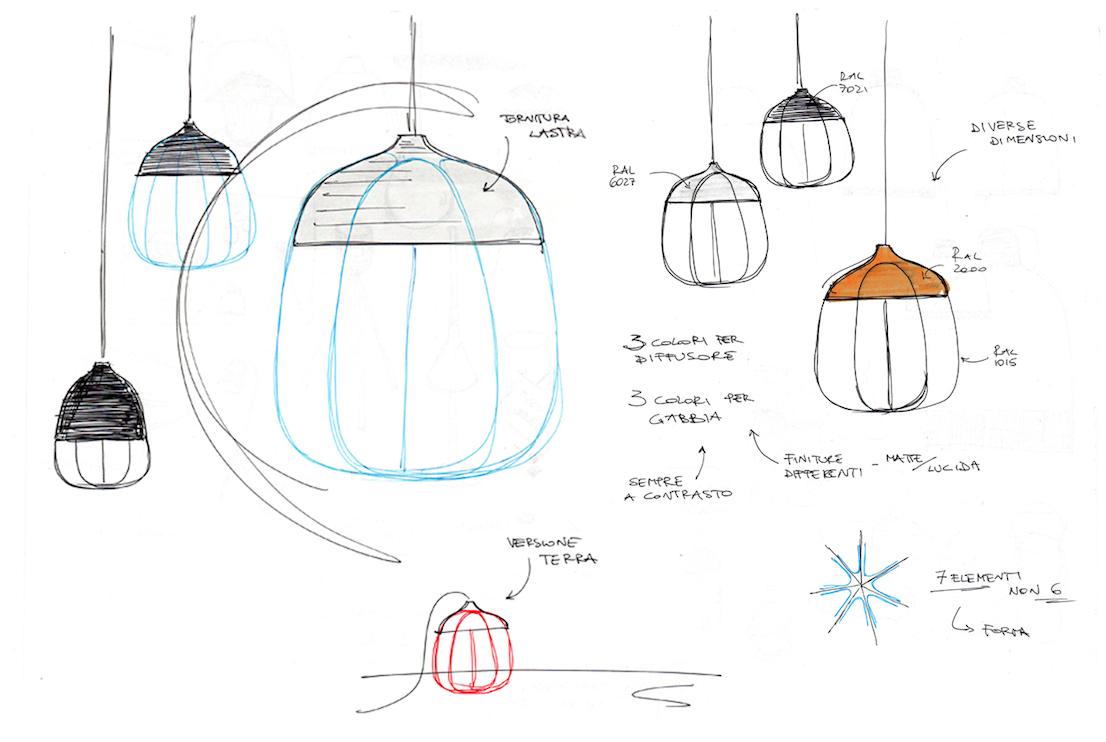 Lampada Tull, Incipit - Tommaso Caldera
