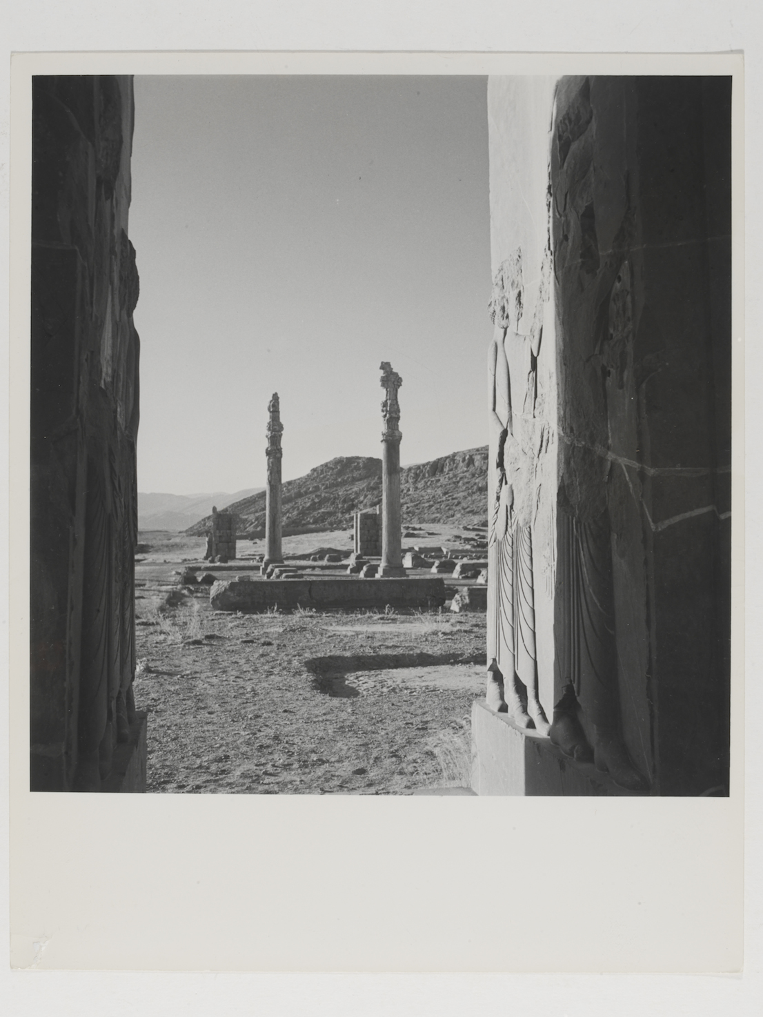 View of ruins at the palace of Persepolis, Persia, 1949. © Condé Nast / Horst Estate.
