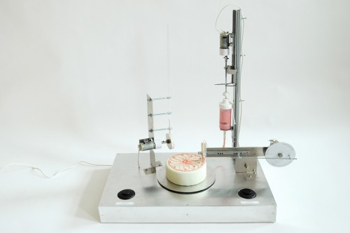 Till you stop - cake decoration, design di Mischer'Traxler, 2010.
