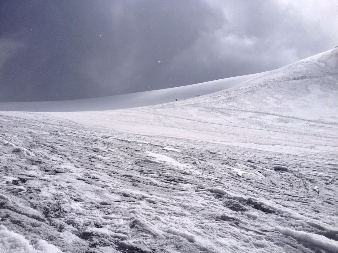 ghiacciaio del Similaun (Niederjoch Ferner)