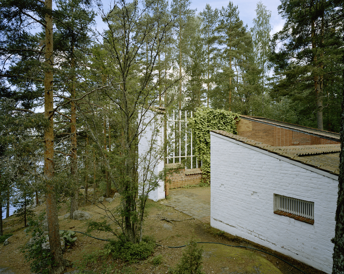 Experimental House, Muuratsalo, Finland, 1952-1953. Photograph by Armin Linke