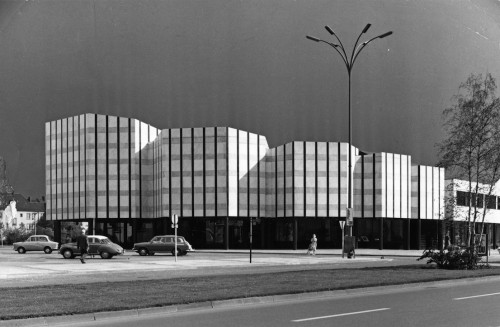 Wolfsburg Cultural Centre, Germany, Alvar Aalto, 1958-1962. Image courtesy of the Alvar Aalto Museum. Photograph by Leonardo Mosso