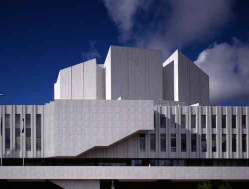 Finlandia, Concert Hall and Convention Centre, Helsinki, 1962-1971. Image courtesy of the Alvar Aalto Museum. Photograph by Rune Snellman