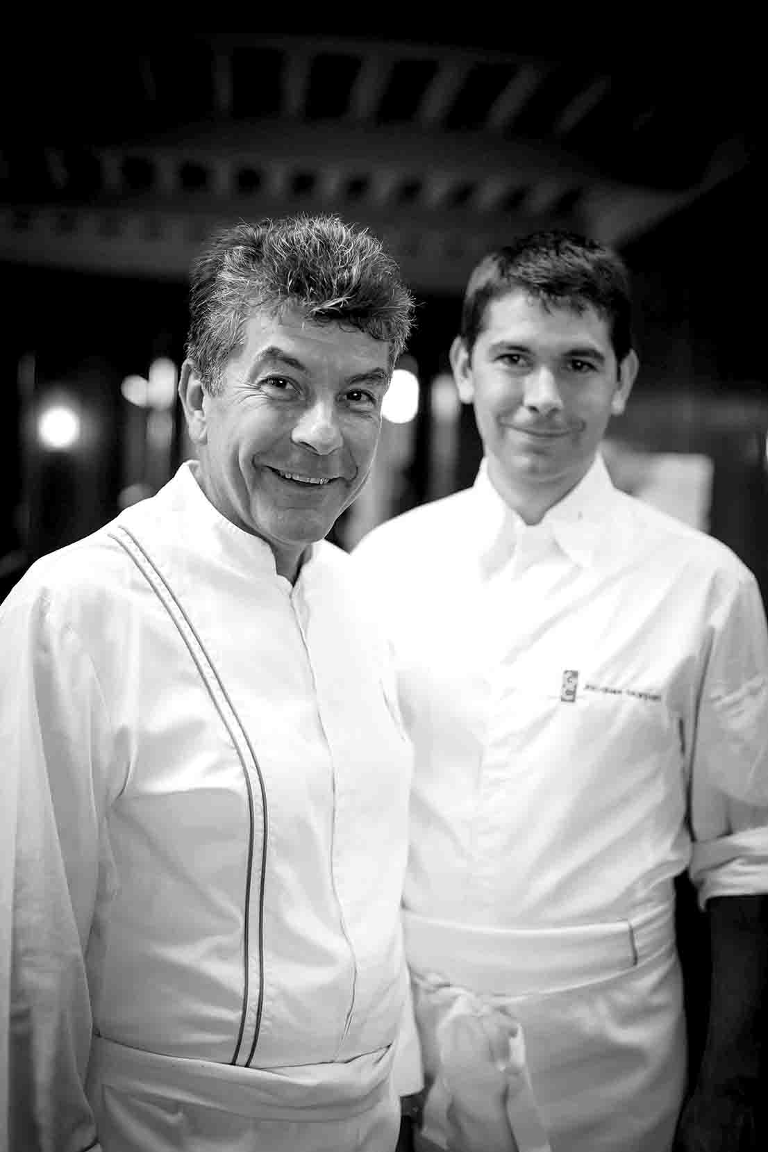 Régis e Jacques Marcon, fotografia di Philippe Barret