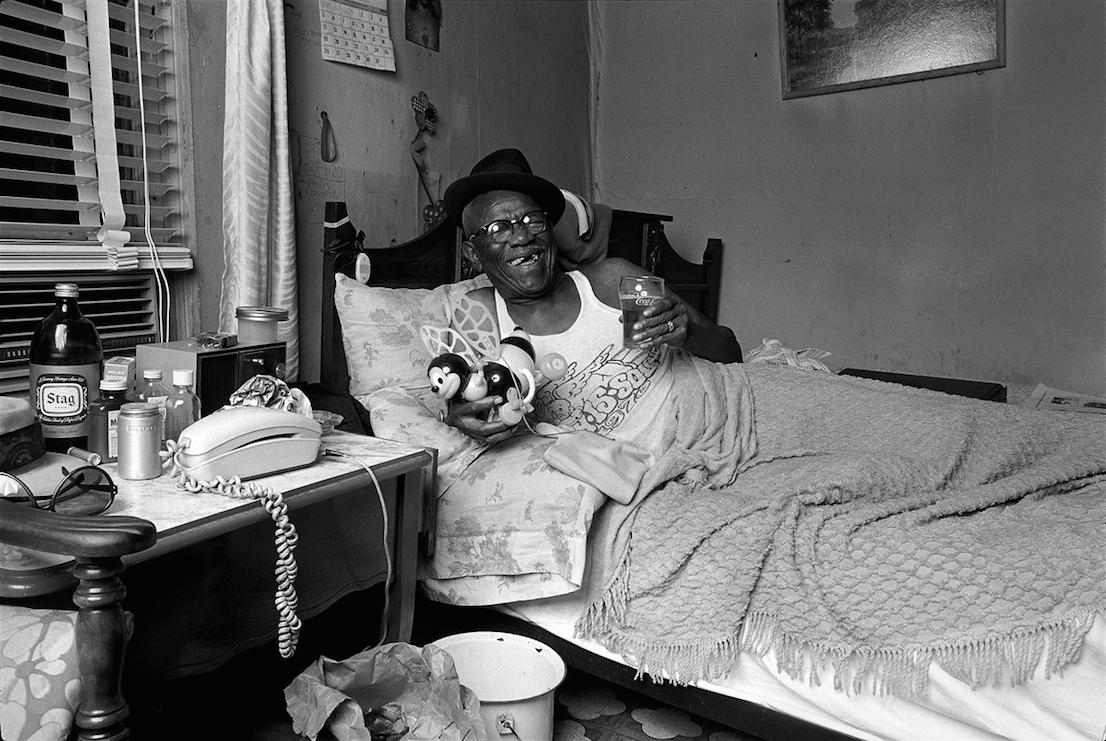 Furry Lewis, 1974. Foto: © Norman Seeff