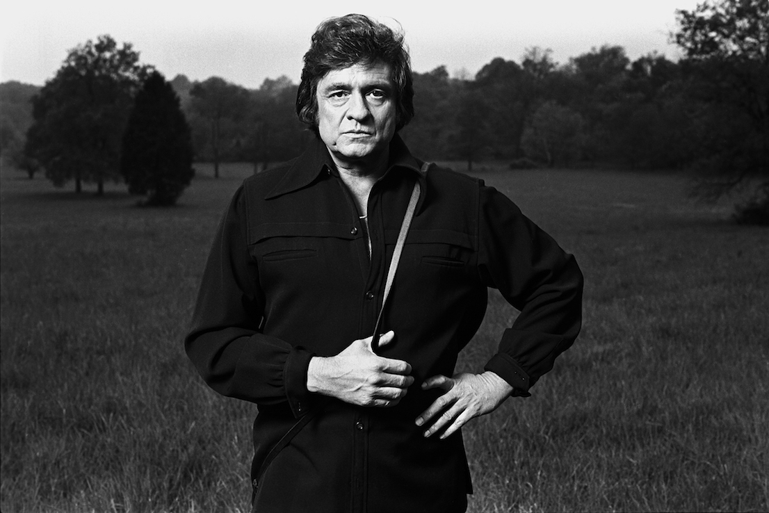 Johnny Cash, 1978. Foto: © Norman Seeff