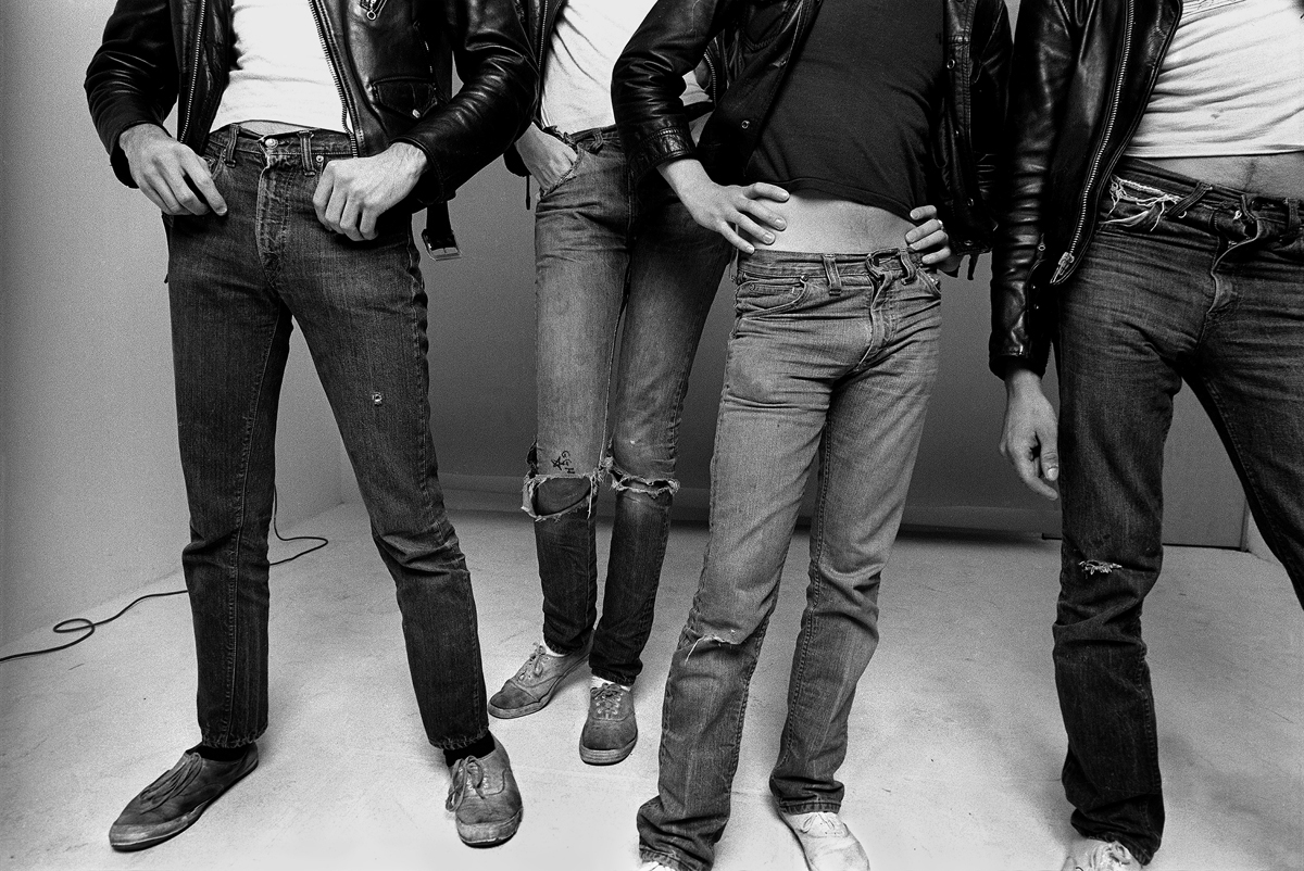 The Ramones, 1977. Foto © Norman Seeff