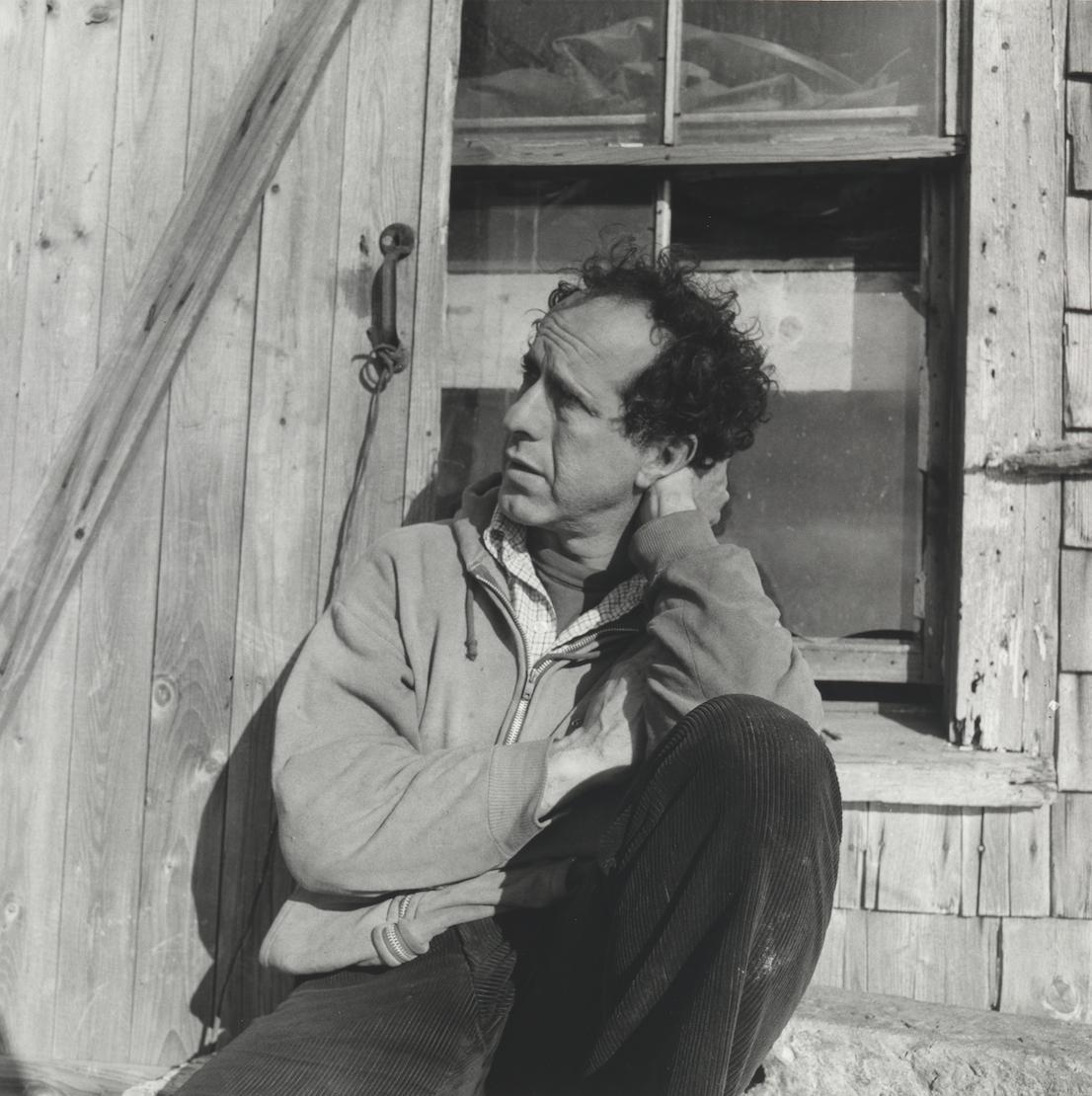 Walker Evans, Robert Frank Nova Scotia, 1969 – 71. Collection of Clark and Joan Worswick. © Walker Evans Archive, The Metropolitan Museum of Art.