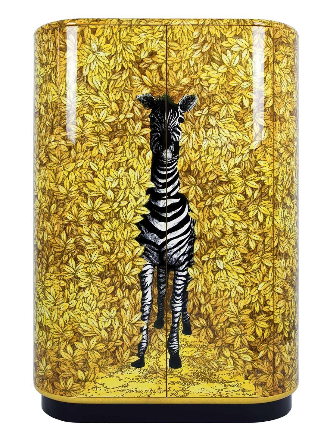 Zebra, design by Barnaba Fornasetti, 2003.