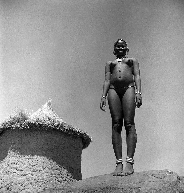 SUDAN. Kordofan. Foto di George Rodger.