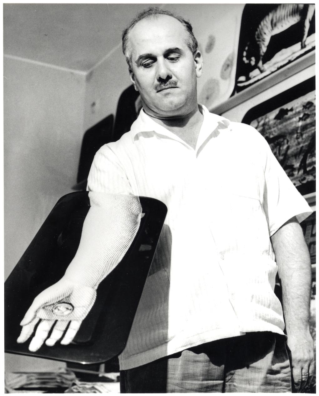 Piero Fornasetti. Courtesy: Archivio Fornasetti.