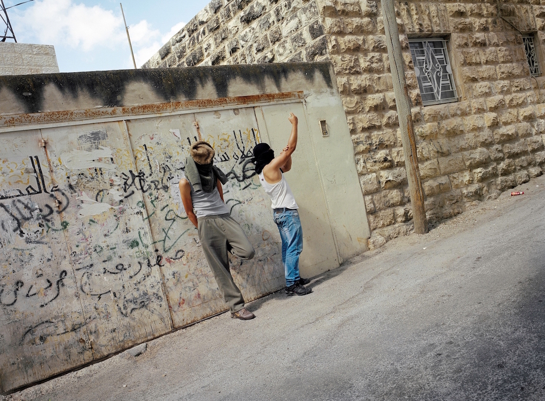 Gilles Peress, Silwan, East Jerusalem, near Ras al-Amud / Silwan, Východní Jeruzalém, poblíž Ras al-Amud 2011.